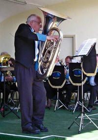 Tuba solo, Snowdown Colliery Welfare Band