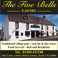 Five Bells Pub. Eastry