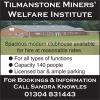 Tilmastone Welfare Club